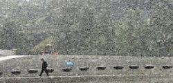 Nevica a Tokyo : Non succedeva da 54 anni