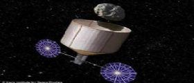Catturare asteroidi! E portalo attorno alla Luna