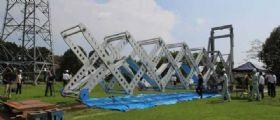 Mobile bridge : In Giappone un ponte pieghevole da record