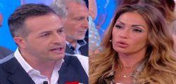 A Uomini e Donne Ida Platano fredda Riccardo Guarnieri : Lo sento da un mese e mezzo