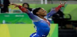 La campione olimpica Simone Biles : Io abusata dal medico della nazionale
