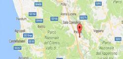 Scossa di terremoto magnitudo 3.8 tra Campania e Basilicata nella notte : Epicentro a Padula