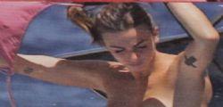 Martina Maccari : La moglie di Leonardo Bonucci in topless