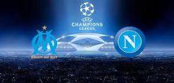 Napoli-Marsiglia Streaming Diretta tv e Online Gratis Champions League
