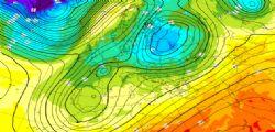 Previsioni meteo Settimana 5/9 Febbraio : pioggia, neve e freddo