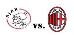 Ajax Milan : Dove Vederla, Probabili Formazioni e Quote Scommesse Calcio