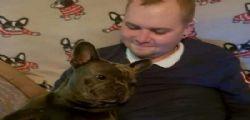 Morti a 15 minuti uno dall'altro! Stuart e il suo bulldog Nero inseparabili fino alla fine