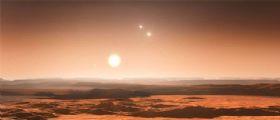Affollamento di pianeti intorno a Gliese 667C: tre nella zona abitabile!