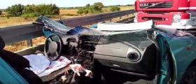 Incidente sulla Sassari-Alghero : Il colpevole fugge a piedi