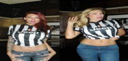 Vittoria Risi e Tera Patrick fanno una promessa hot alla Juventus