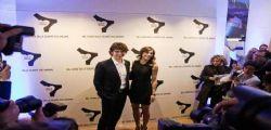 Elisabetta Canalis e Luca Argentero insieme al Pitti