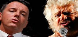Referendum: Beppe Grillo e Matteo Renzi verso l