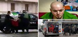 Macerata : trasferito in carcere Luca Traini - detenuto con  Innocent Oseghale