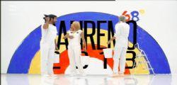 Sanremo 2018 prima serata 6 febbraio : Scaletta - Cantanti e Ospiti