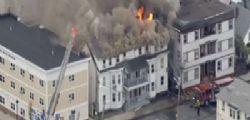 Massachusetts : Diverse esplosioni di gas in serie in tre città, un morto e 16 feriti