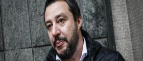 Matteo Salvini a Mattino 5 : La ruspa per i campi rom è l