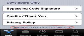 Jailbreak iOS 6.1.4 : Winocm esegue il Jailbreak su un iPhone 5