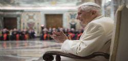 La lettera del Papa Emerito Benedetto XVI : Sono in pellegrinaggio verso Casa