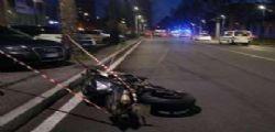 Incidente moto Torino : muoiono tre persone in centro