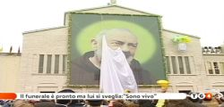 Sono vivo... Padre Pio mi ha fatto la grazia! Il Funerale di Mario è pronto ma lui si risveglia