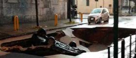 Maltempo Napoli : Un