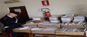 Torino, aveva in casa 400 chili di posta : Denunciato dai carabinieri un corriere 33enne
