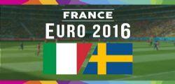 Diretta Streaming Live Italia - Svezia Europei 2016