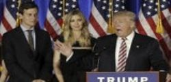 Donald Trump sceglie il genero Jared Kushner come top adviser alla Casa Bianca