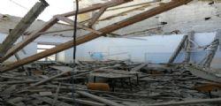 Tragedia sfiorata al tecnico Montani di Fermo : Crolla il tetto prima dell
