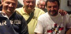 Salvini, polemica per la foto col neonazista e pregiudicato Roger Etter