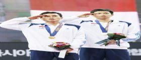 La squadra indonesiana si impone nel badminton ai Giochi Asiatici