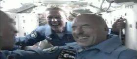 Luca Parmitano : la Soyuz partita e arrivata alla ISS