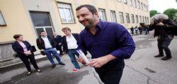 Matteo Salvini ringrazia Silvio Berlusconi : O si chiude veloce o si vota
