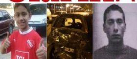 Buenos Aires : Latitante Claudio Soria ruba un auto e si schianta uccidendo un bambino di 11 anni