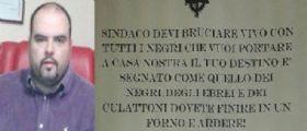 Pontebba, Udine | Il Sindaco Ivan Buzzi minacciato a morte : Brucerai come i negri che vuoi portare