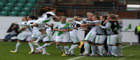 CALCIO FEMMINILE - Il Wolfsburg trionfa nella Champions League femminile.