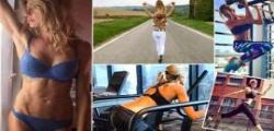 Maddalena Corvaglia : Sexy casalinga in tacchi a spillo