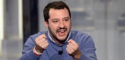 Matteo Salvini a Non è l'Arena : Gli italiani non sono razzisti