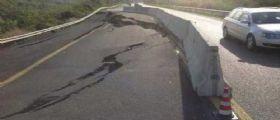 Cilentana, piloni in bilico e superstrada tra frane e rattoppi : Parziale riapertura a Giugno