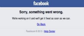 Facebook Down : Provblemi il social network di Mark Zuckerberg.