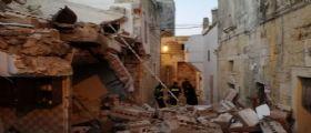 Lecce - bombola perde gas : Una casa esplode nel cuore della notte a Martano