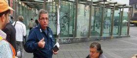 Franco Della Corte, la guardia giurata aggredita alla Metropolitana non ce l
