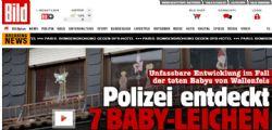 Germania :Trovati i cadaveri di sette neonati in una casa