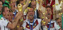 Mondiale 2014: Germania batte Argentina ed Campione del Mondo