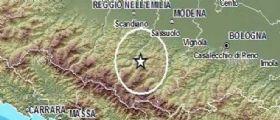 Terremoto Modena : sisma magnitudo 3.5