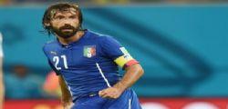 Andrea Pirlo è pronto a restare in Nazionale