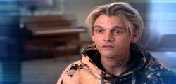 Aaron Carter schizofrenico e bipolare : la scioccante scoperta in diretta tv