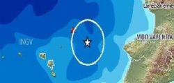 Terremoto Sicilia : Scosse nello Stretto di Messina
