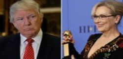 Donald Trump attacca Meryl Streep : attrice sopravvalutata