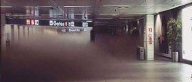 Incendio Aeroporto Fiumicino, voli cancellati fino alle 14.00 : Come ottenere il rimborso